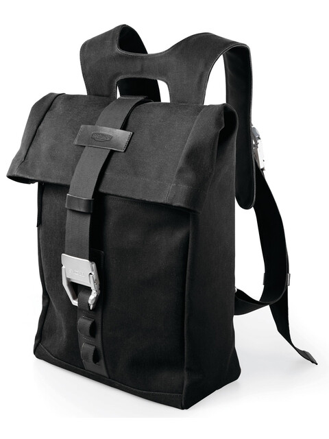 Brooks Islington Backpack Canvas 22-30 L total black